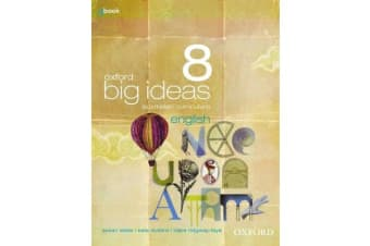 Oxford Big Ideas English 8 Australian Curriculum Student Book + obook