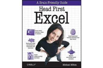 Head First Excel - A Learner's Guide to Spreadsheets