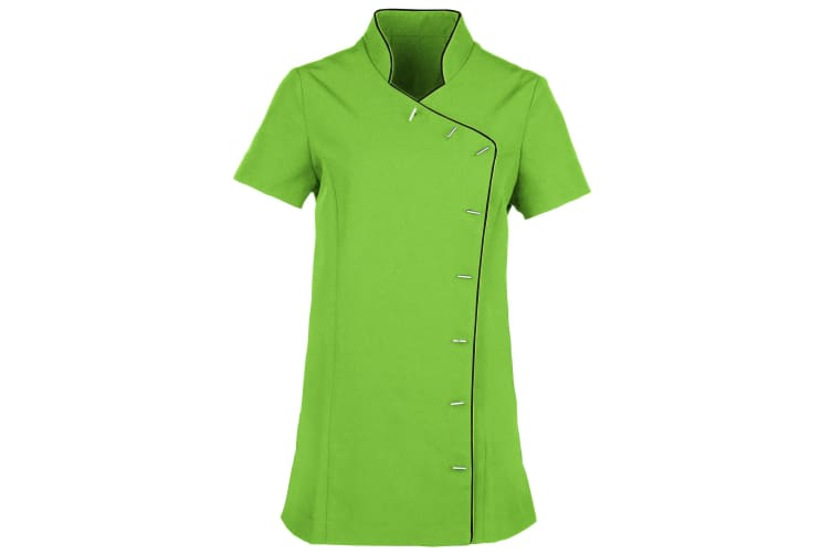 Premier Ladies/Womens *Lily* Tunic / Health Beauty & Spa / Workwear (Lime / Black) (10)