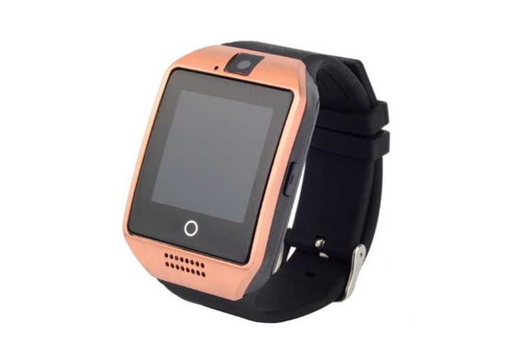Smart Watch For Android Phones,Bluetooth Watch Phone With Sim Card Slot Watch Cell Phone Gold