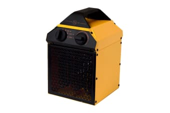 Goldair 2000W Industrial Fan Heater with 3 Heat Settings (GIFH200)