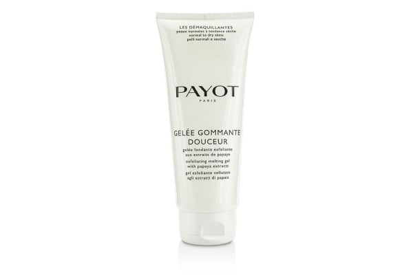 Payot Les Demaquillantes Gelee Gommante Douceur Exfoliating Melting Gel - Salon Size (200ml/6.7oz)