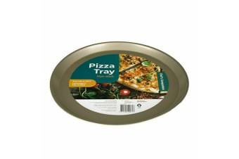 Pizza Tray Plate Pan Non-Stick Round Large Pizzas Oven