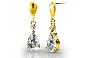 Anastacia Drop Earrings Embellished with Swarovski crystals