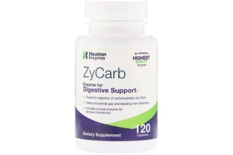 Houston Enzymes ZyCarb 120 Capsules