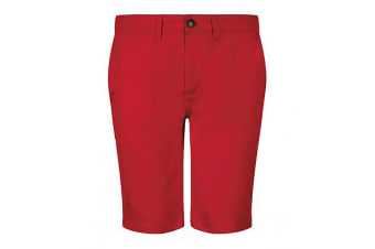 SOLS Mens Jasper Bermuda Shorts (Poppy Red) (30in)
