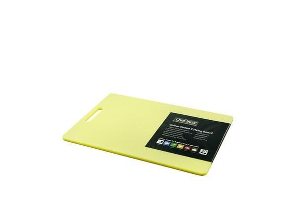 Chef Inox Cutting Board 300x450x12mm Yellow