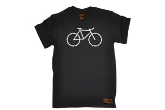 Ride Like The Wind Cycling Tee - Chain Bike Mens T-Shirt