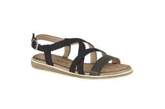 Cipriata Womens/Ladies Marcella Sandals (Black)