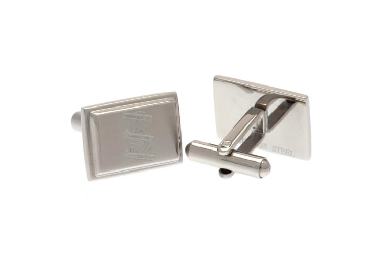 Birmingham City FC Stainless Steel Cufflinks (Silver) (One Size)