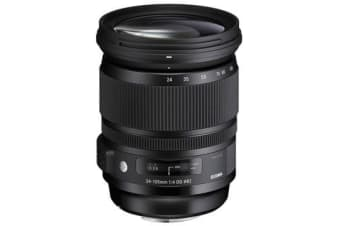New Sigma 24-105mm f/4 DG OS HSM Art Lens (Canon) (FREE DELIVERY + 1 YEAR AU WARRANTY)