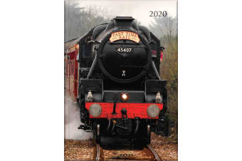 Steam Trains - 2020 Diary Planner A5 Padded Cover by The Gifted Stationery