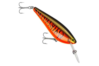 Bagley Monster Shad Fishing Lure - LMO Orange