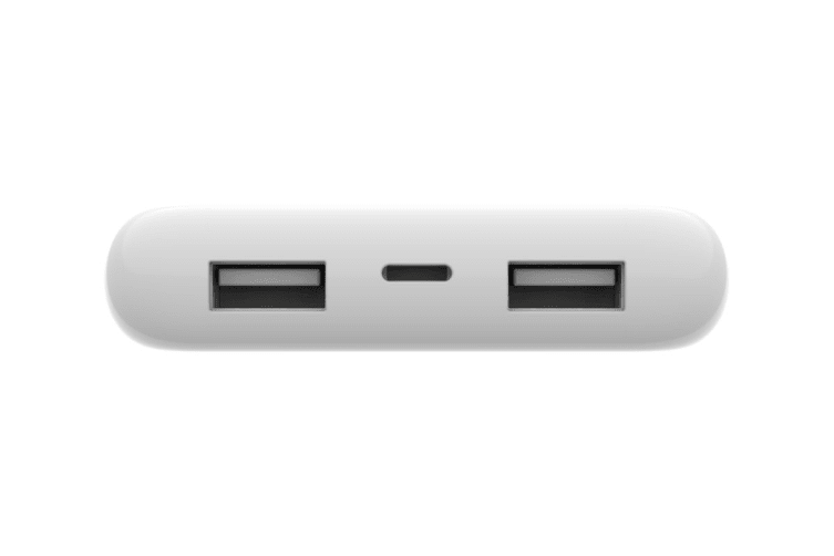 Belkin Boost Charge 10000mAh Power Bank with Lightning Cable - White (F7U046BTWHT)