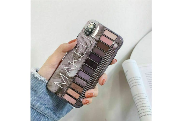 Marble Pattern Soft TPU Case Elegant Stylish Shockproof Silicone Cover for iPhone XS Max-Grey