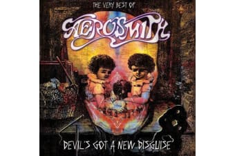 Aerosmith ‎– Devil's Got A New Disguise : The Very Best Of Aerosmith PRE-OWNED CD: DISC EXCELLENT