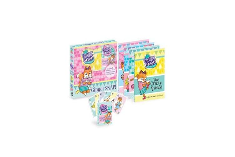 Ginger SNAP! - Includes 4 books & a set of Ginger Green playing cards