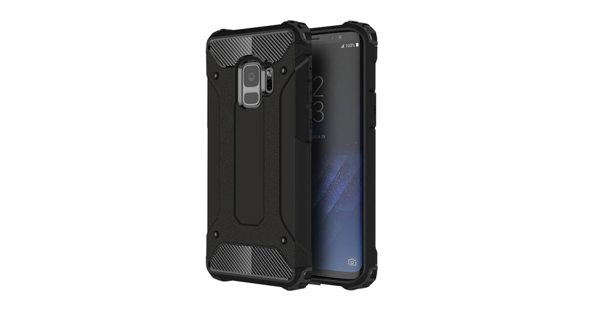 sports shoes 2a38f 64e32 Shockproof Case For Samsung Galaxy S9 Black | Cases