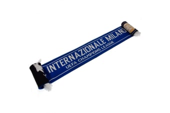 FC Inter Milan Champions League Scarf (Blue) (One Size)