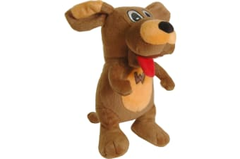 Wags The Dog Plush