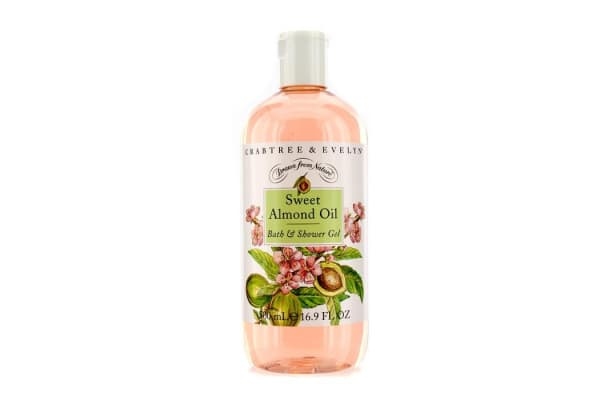 Crabtree & Evelyn Sweet Almond Oil Bath & Shower Gel (500ml/16.9oz)