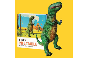 Giant Inflatable T-Rex Tyrannosaurus Rex Dinosaur - Stands 1.2m Tall!