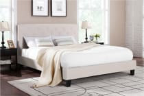 Shangri-La Bed Frame - Sorrento Collection (Beige)