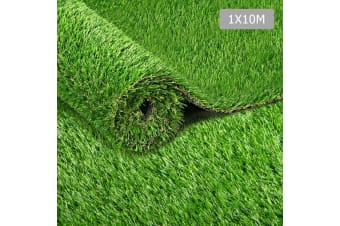 Artificial Grass 10 SQM Synthetic Artificial Turf Flooring 30mm Pile Height (Green)