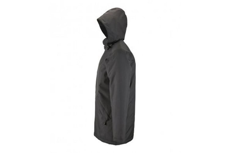 SOLS Unisex Adults Robyn Padded Jacket (Charcoal) (XL)