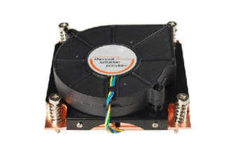 TGC Chassis Accessory 1U Universal CPU Active Cooler (Full Copper) for