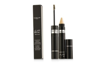 Guerlain La Petite Robe Noire Brow Duo (Brow Mascara 4ml + Highlighter 1.5g) - # 10 Light G0424