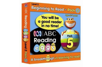 Reading Eggs Ages 4 to 6 Book Pack 5