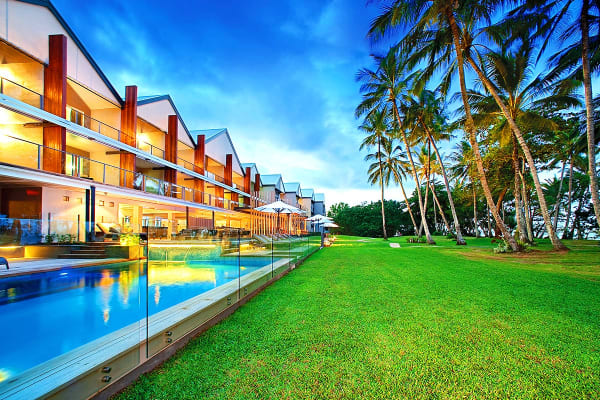 MISSION BEACH: 3/5 Nights at Castaways Resort & Spa, QLD (5 Nights, Beachfront Resort Room)