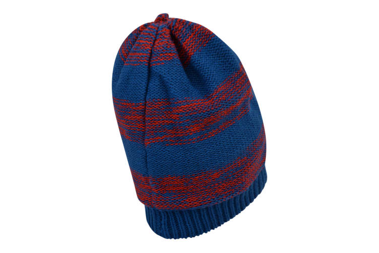 Dare 2B Mens Thesis Beanie (Oxford Blue/Fiery Red) (One Size)