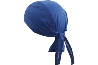 Myrtle Beach Basic Bandana Hat (Royal Blue) (One Size)