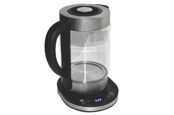 1.8L LED Electric Glass Digital Kettle w/Boil Dry/Temperature Control/Keep Warm