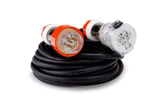 GENPOWER 10M Power Cord 3-Phase 20A Aussie Standard 5-Pin 415V Extension Lead