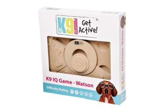 K9 Pursuits Watson Interactive Dog IQ Game (Brown) (One Size)