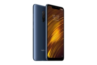 Xiaomi Pocophone F1 (64GB, Steel Blue) - Global Model