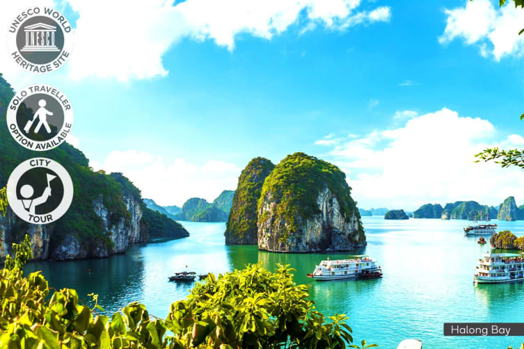VIETNAM: 10 Day Vietnam from the North to the South Tour for One