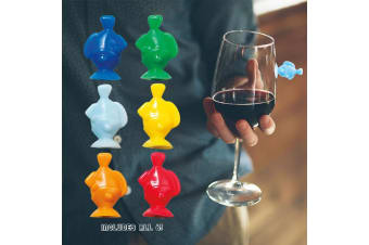 Drink Like A Fish Glass Markers