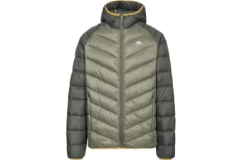 Trespass Mens Rusler Down Jacket (Moss) (XS)