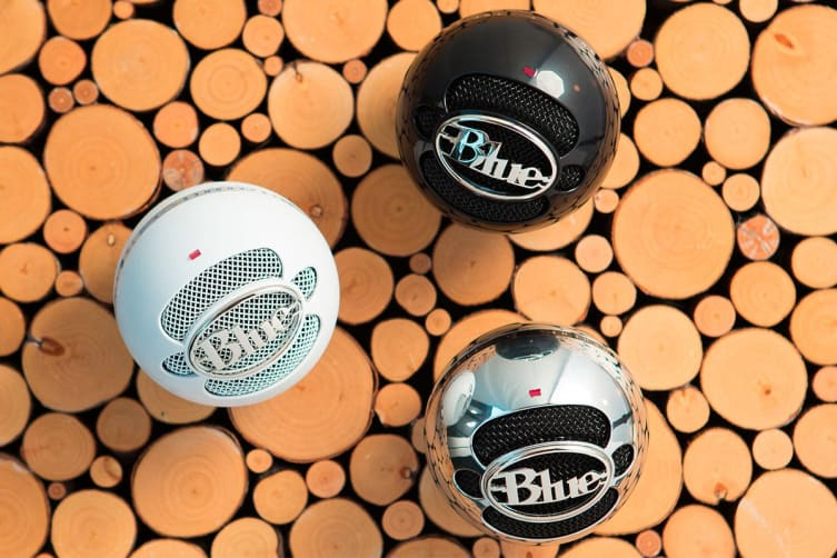 Blue Snowball Professional USB Microphone - Gloss Black
