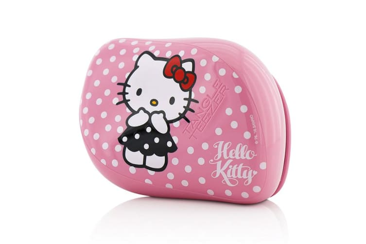 Tangle Teezer Compact Styler On-The-Go Detangling Hair Brush - # Hello Kitty Pink 1pc