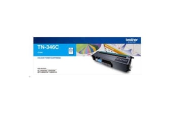 BROTHER Toner TN346C Cyan (3500 pages)