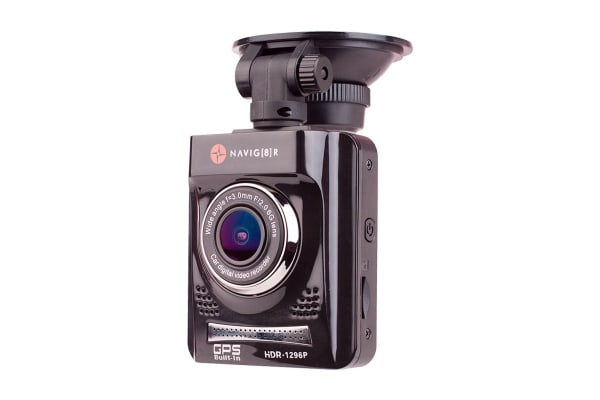 Laser Navig8r Super HD 1296p in Car Digital Video Recorder with GPS and Map Display + SanDisk 32GB Extreme microSDHC Card