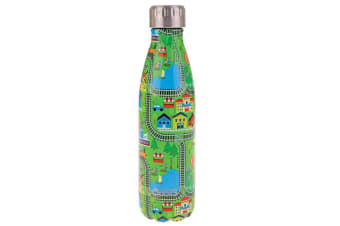 Oasis 500ml Stainless Steel Double Wall Insulated Travel Drink Water Bottle City
