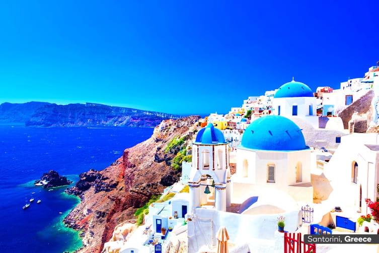 EUROPE: 29 Day Great European Tour Including 7 Nights Eastern Mediterranean Cruise with Flights for Two (Interior Cabin)