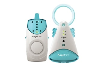 Angel Care Portable/Rechargeable Infant/Baby Sound Monitor w/Night Light Lamp