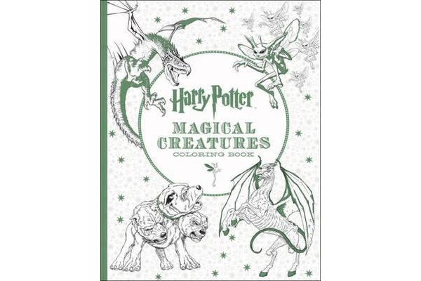 Harry Potter - Magical Creatures Colouring Book